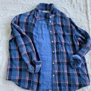 Plaid madewell button down flannel